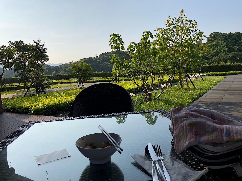 台湾ホテル 朝食風景