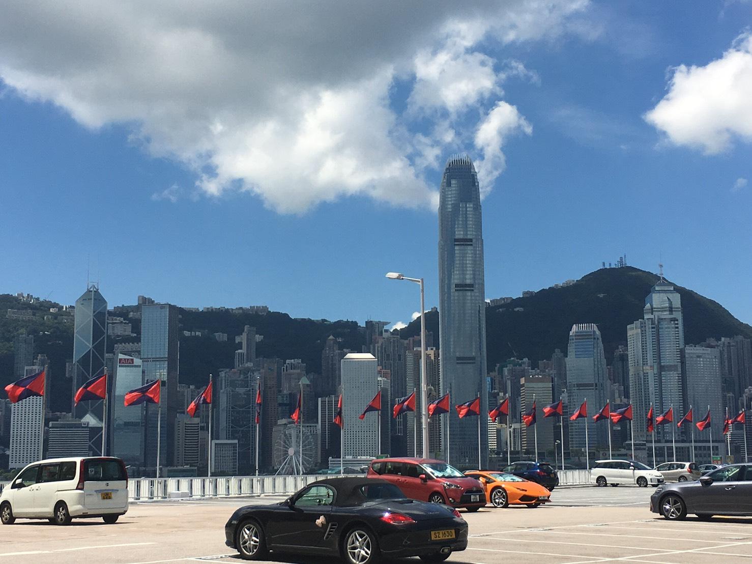 香港 高層ビル